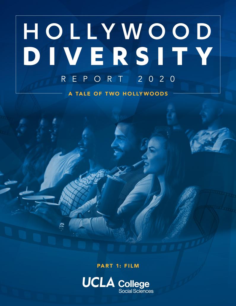 Hollywood Diversity Report 2020 Part 1: Film