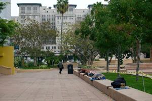 Homeless People in Pershing
